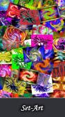Mises en scène sur des objets en images numériques et digigraphie